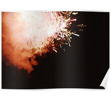 Fireworks - Lomo Poster