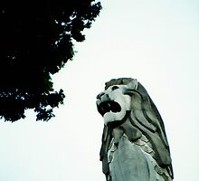 Merlion - Lomo by Yao Liang Chua