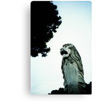 Merlion - Lomo Canvas Print