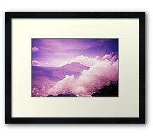Purple Haze - Lomo Framed Print
