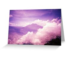 Purple Haze - Lomo Greeting Card