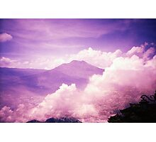Purple Haze - Lomo Photographic Print