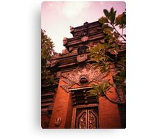 Temple - Lomo Canvas Print