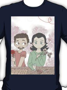 Tony and Loki, Flower Shop T-Shirt