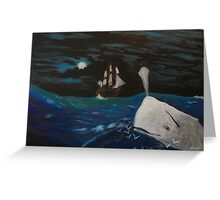 Moby Dick - Fateful Night Greeting Card