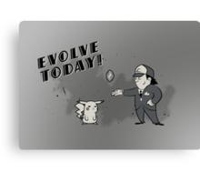 (I Don't Want to) Evolve Today! (Pokemon/Bioshock) Canvas Print