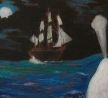 Moby Dick - Fateful Night Sticker