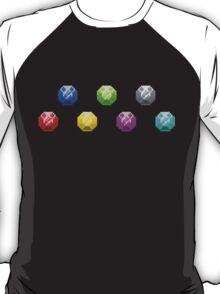 Chaos Emeralds - Classic Design T-Shirt