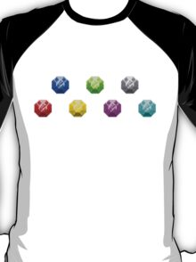 Chaos Emeralds - Classic Design T-Shirt