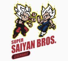 Super Saiyan Bros by Nadhia-Store