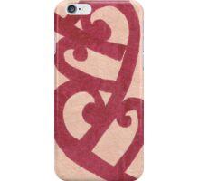 maori pink iPhone Case/Skin