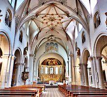 St Castors Basilica, by Lilian Marshall