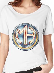 Mars Hotel Steelbutton-Logo Women's Relaxed Fit T-Shirt