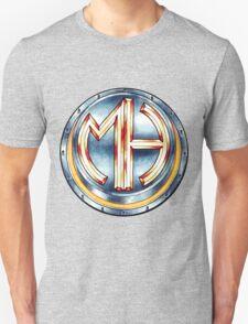 Mars Hotel Steelbutton-Logo T-Shirt