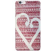 maori heart iPhone Case/Skin