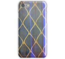 bark blue iPhone Case/Skin