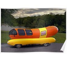 The Wienermobile Poster