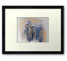 hj696 Framed Print