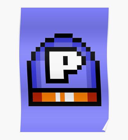 P - Switch - Super Mario World Poster
