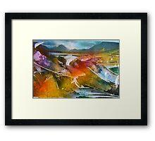 hj1151 Framed Print