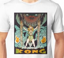 Kong loves cheesecake COLOR Unisex T-Shirt