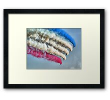 Cookin On Gas !! - The Red Arrows - Duxford 26.05.2013  Framed Print