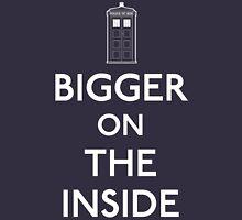 Bigger On The Inside Tardis Unisex T-Shirt