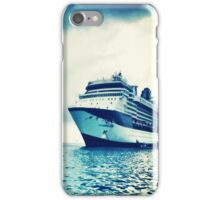 cruise ship iPhone Case/Skin