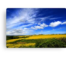 Pembrokeshire-Early Summer Skies Canvas Print