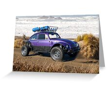 Driving Me Buggy  Greeting Card
