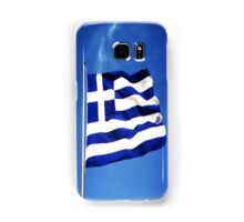 Greek flag Samsung Galaxy Case/Skin