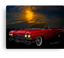 59 Baddy Caddy Canvas Print