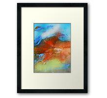 hj1126 Framed Print