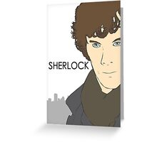 Sherlock- Benedict Cumberbatch Greeting Card