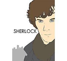 Sherlock- Benedict Cumberbatch Photographic Print
