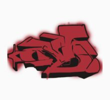 M Red Graffiti by Maestro Hazer