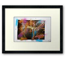 hj1098 Framed Print