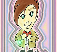 #11  The Eleventh Doctor,  by Cecilia Valdez