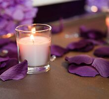 Candle Glow by Debbie Moore