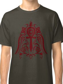 Ankh insane tribal tattoo Classic T-Shirt