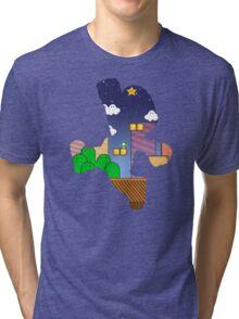 Hero:Plumber Tri-blend T-Shirt