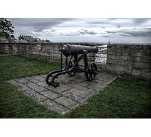 Coastal Cannon Photographic Print