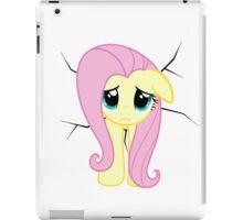 Fluttershy is stuck iPad Case/Skin