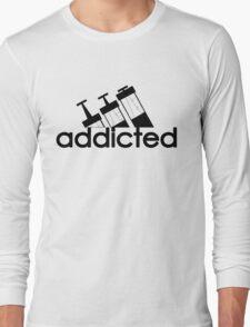Addicted / Black Long Sleeve T-Shirt