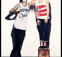 Kellin Quinn and Austin Carlile by XxCapnPlanetxX