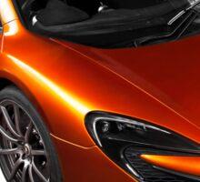 McLaren 650S 2015 - Tee / Sticker Design - Volcano Orange Supercar Sticker