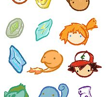 Kanto Stickers by Gage White