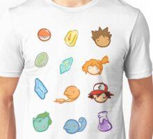 Kanto Stickers Unisex T-Shirt