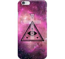 All seeing galaxy! iPhone Case/Skin