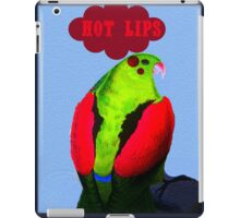 hot lips iPad Case/Skin